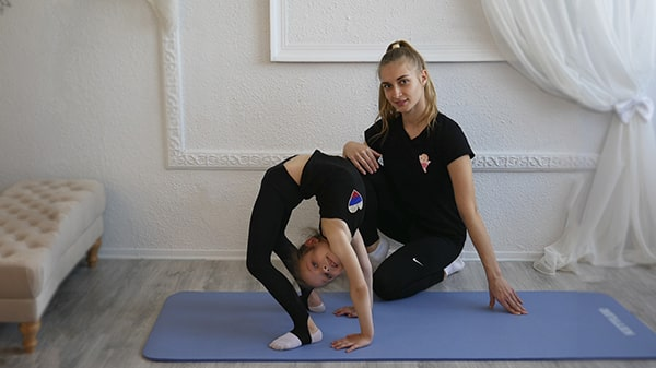 Художественная гимнастика для продолжающих онлайн