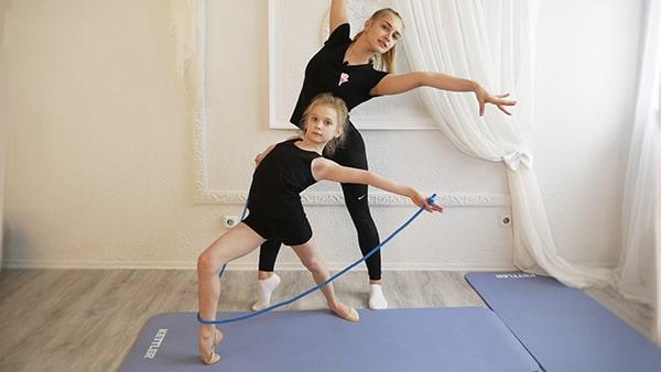 онлайн курс по художественной гимнастике для начинающих